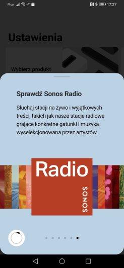 Aplikacja Sonos do zarządzania obrazem Symfonisk (8)