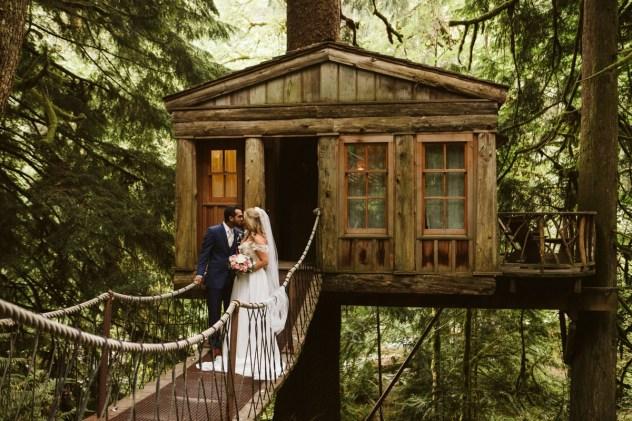 Washington Wedding Venue Treehouse Point