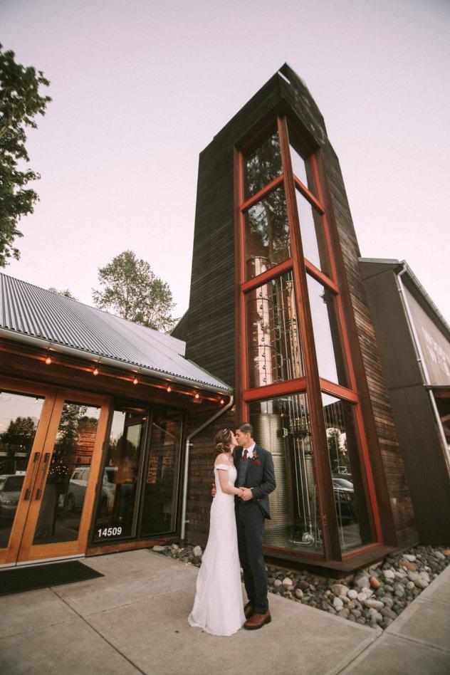 Woodinville Whiskey Hollywood Tavern Wedding