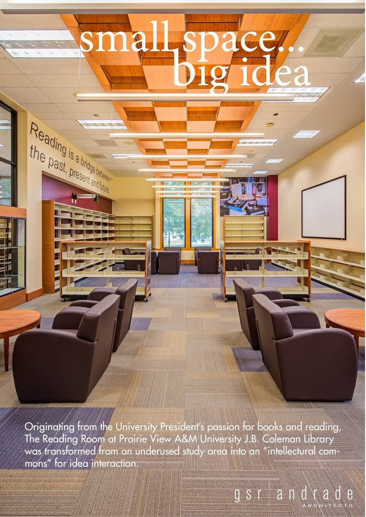 caf7c78521e65 Project Profile: PVAMU's Coleman Library - President's Reading Room ...