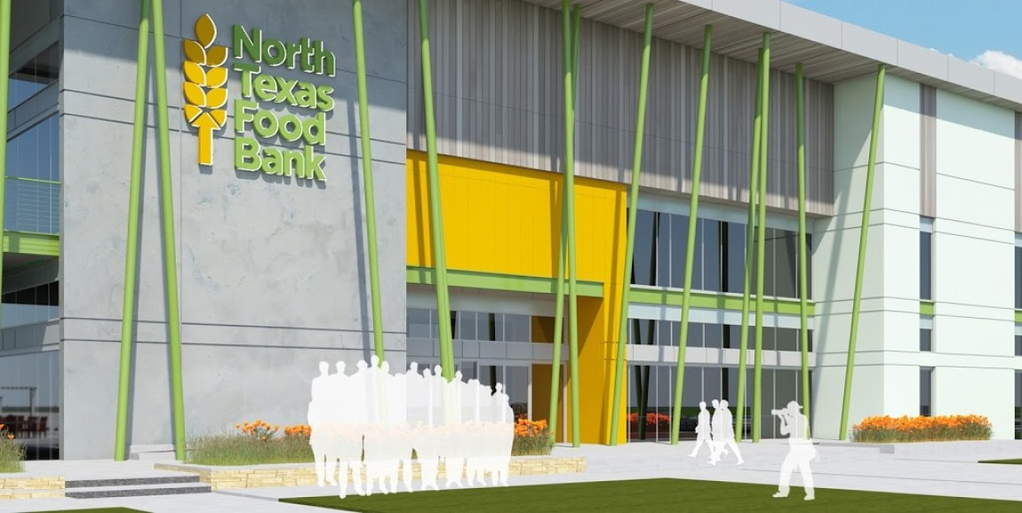 North Texas Food Bank Ceremonial Ground-Breaking - GSR-Andrade