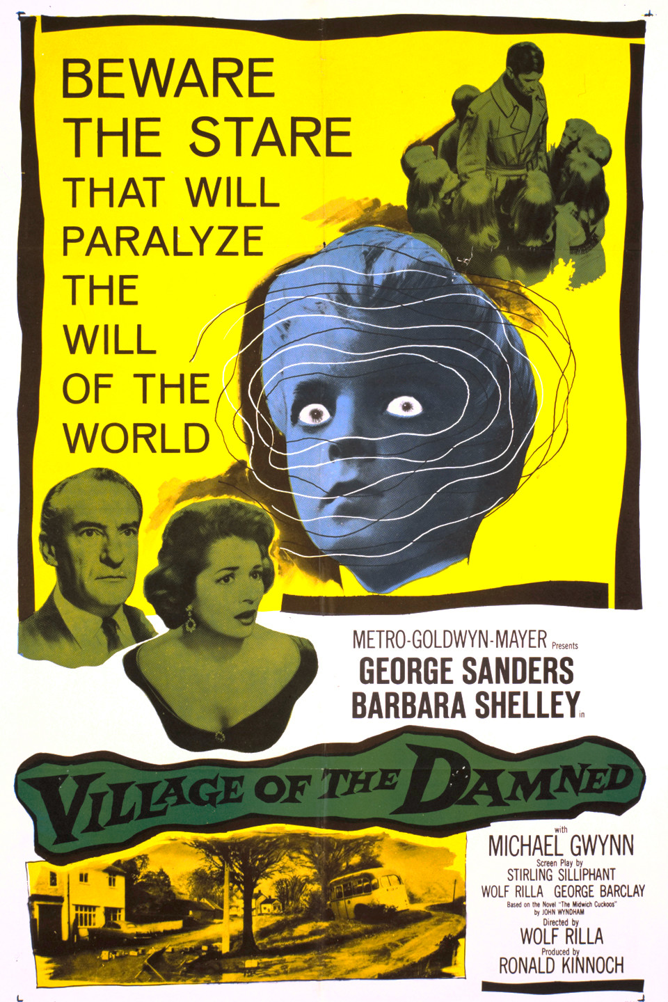 Image result for Village of The damned 1960