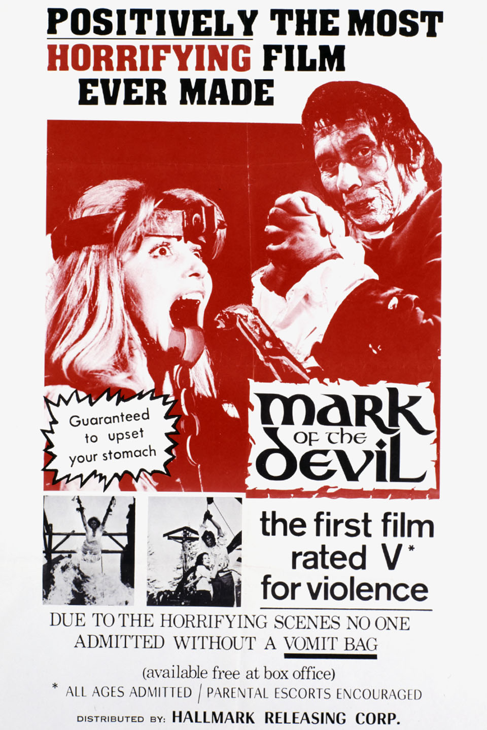 Image result for mark of the devil mpaa rating
