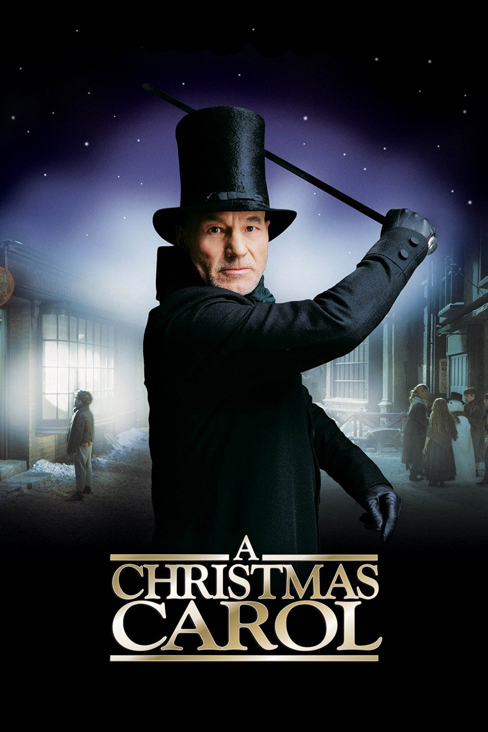 Image result for christmas carol patrick stewart