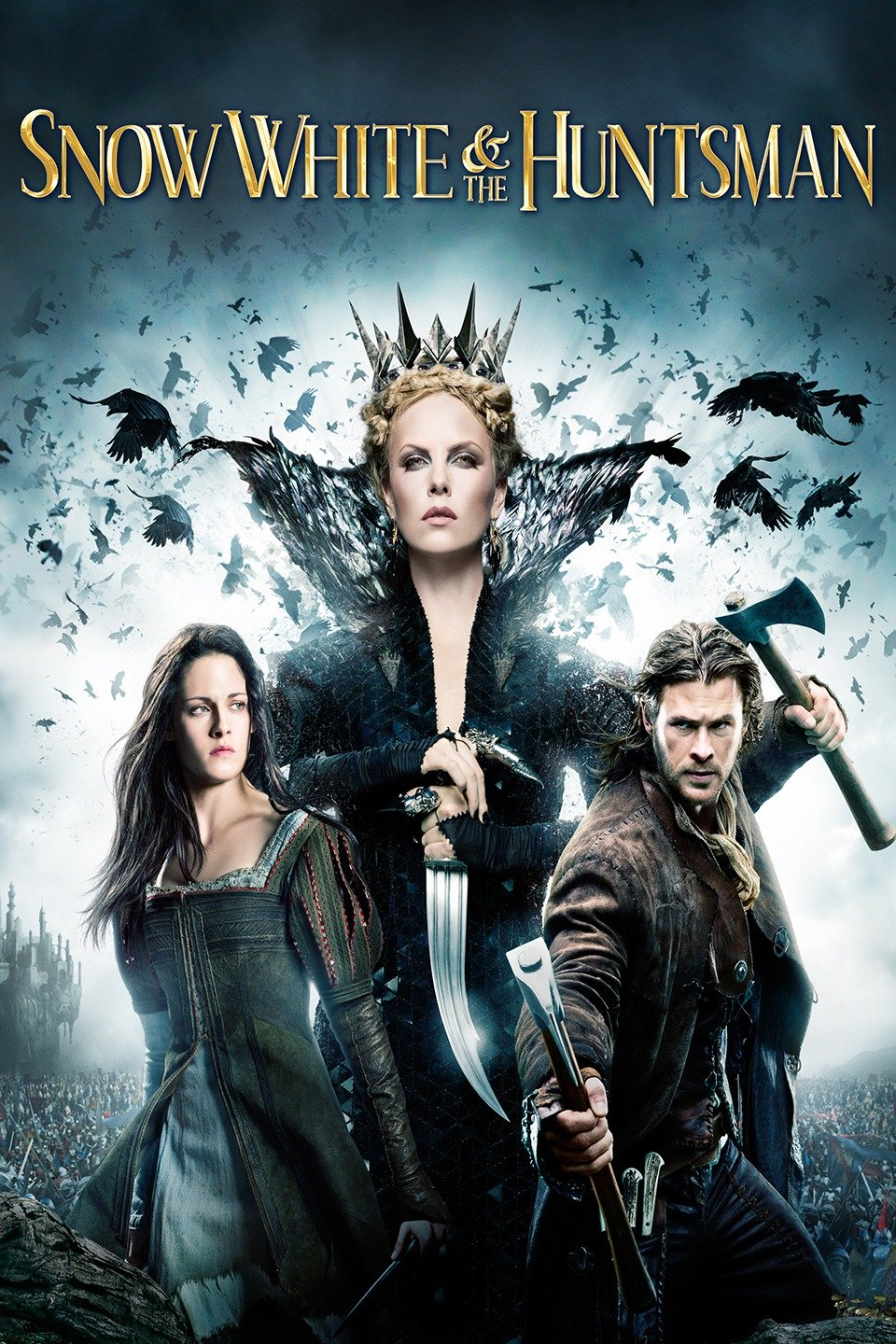 Download Snow White and the Huntsman (2012) Dual Audio {Hindi-Eng} 480p [500MB] | 720p [1GB] | 1080p [2GB]