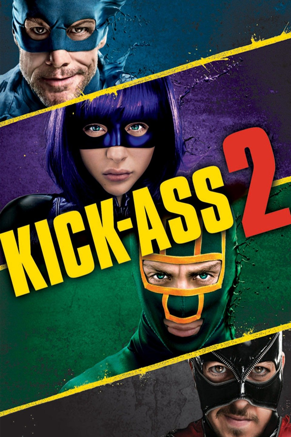 Download Kick-Ass 2 (2013) Dual Audio {Hindi-English} 480p [400MB] | 720p [850MB]