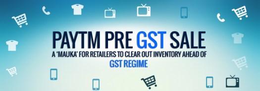 Pre GST Sale
