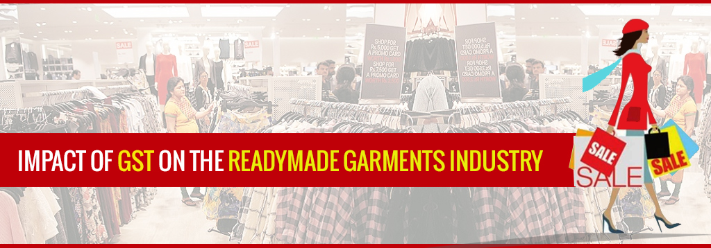 GST Rate on Readymade Garments, Textiles, Fabric, Cloth in India