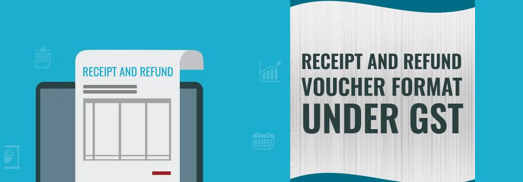 Receipt Voucher Format under GST