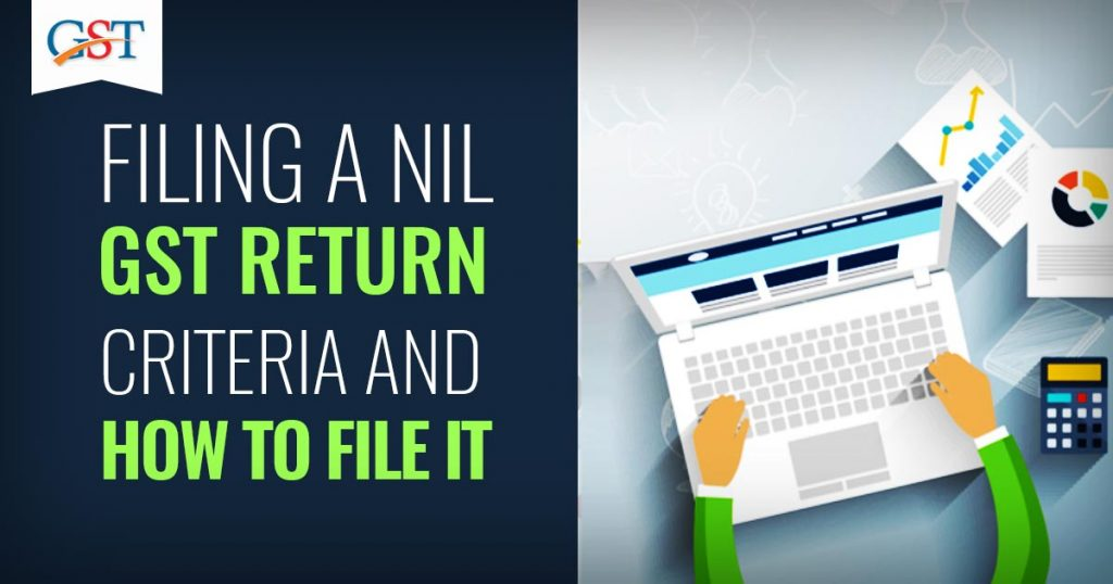 Filing a NIL GST Return