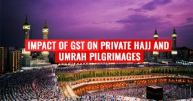 GST on Hajj and Umrah