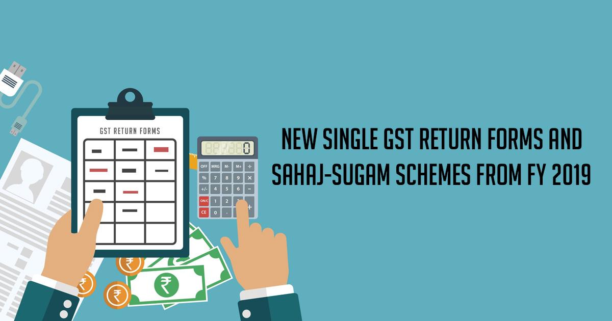 new-single-gst-return-form-sahaj-sugam