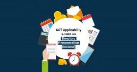GST Rate on Directors Remuneration