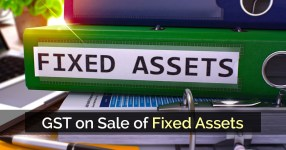 GST on Sale of Fixed Assets