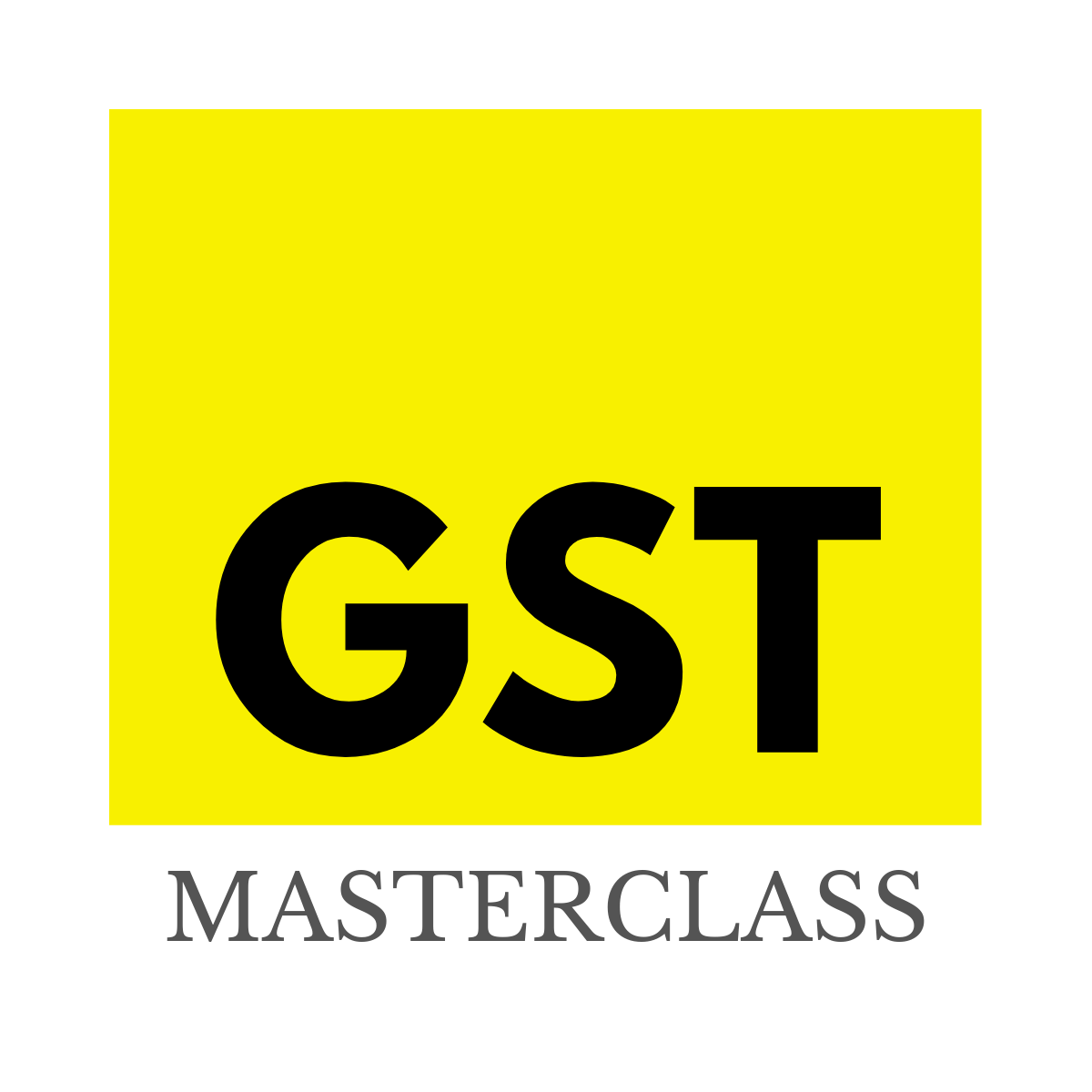 GSTMasterClass