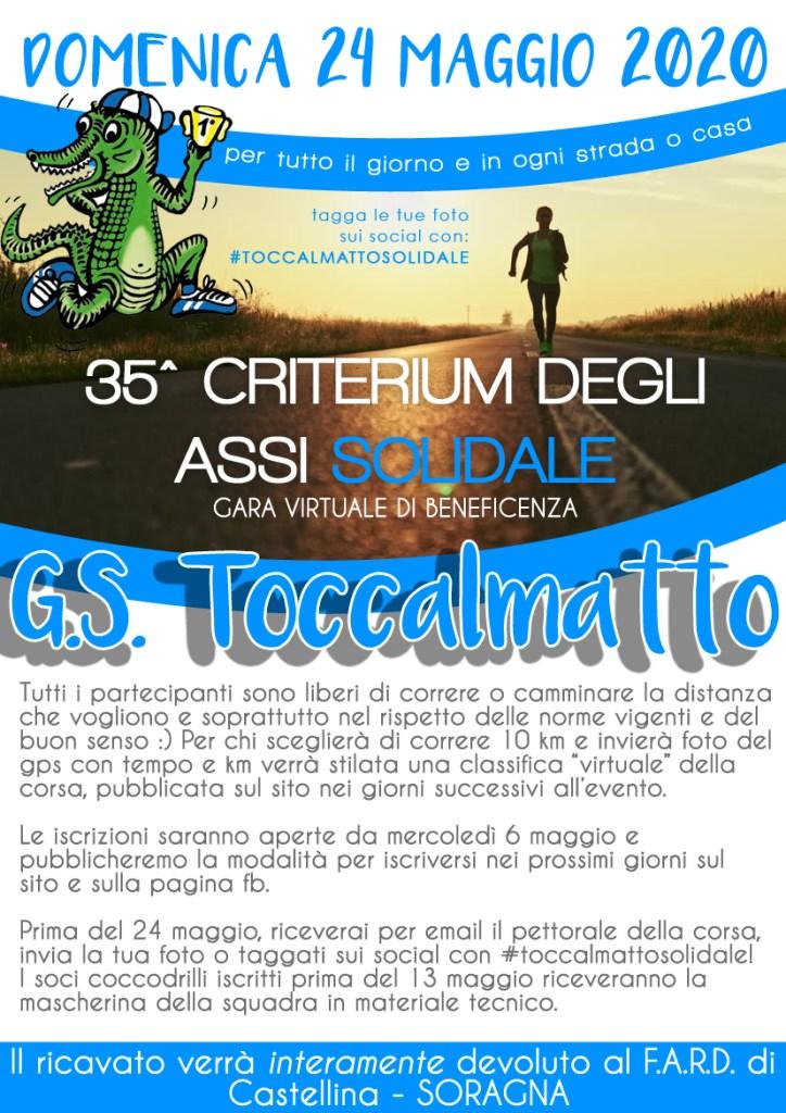 35^ Criterium degli Assi solidale