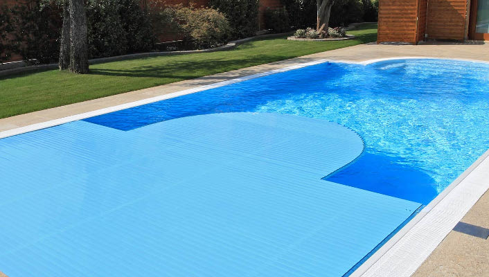 copertura per piscine a tapparella