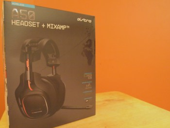 Astro Gaming A50 Gaming Headset - A 50 Gamer Headset Packaging