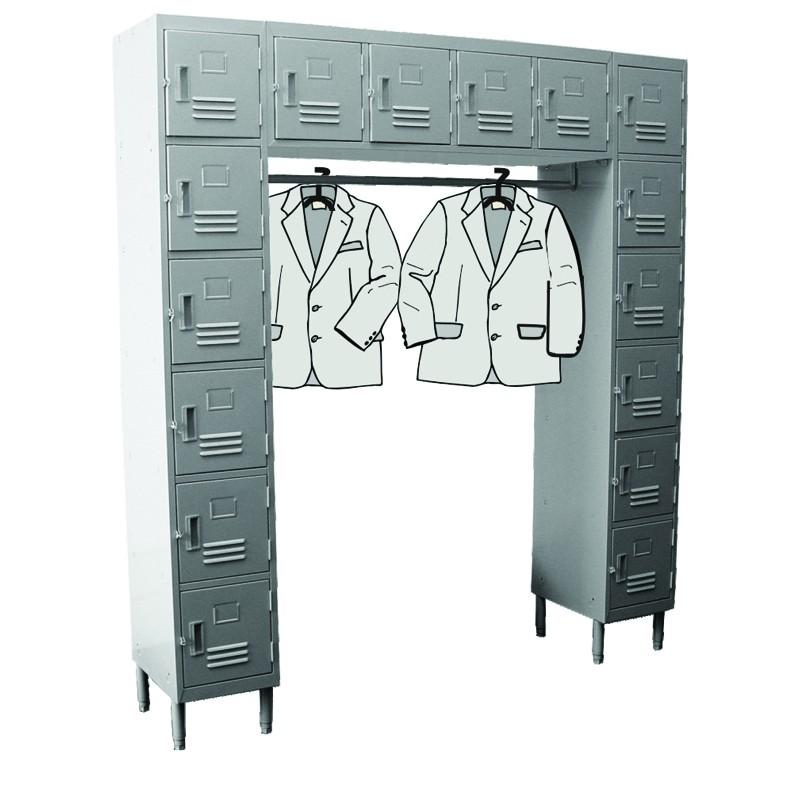 16 Doors Wall Mounted Locker Gsw