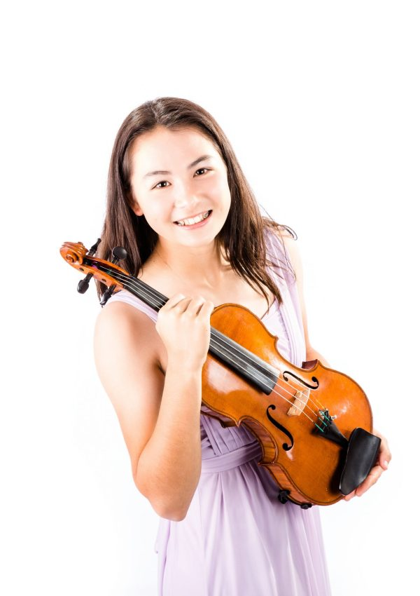 violin soloist Cassandra May