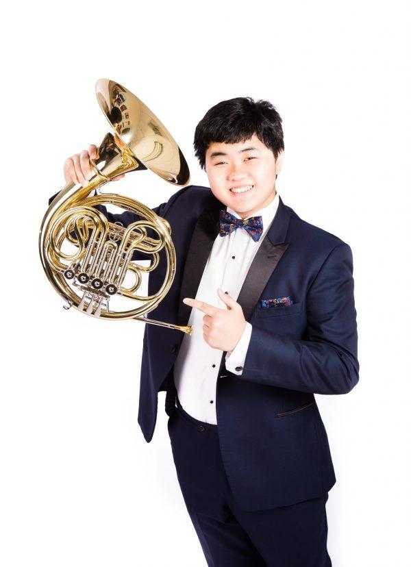 horn soloist Ethan Lee