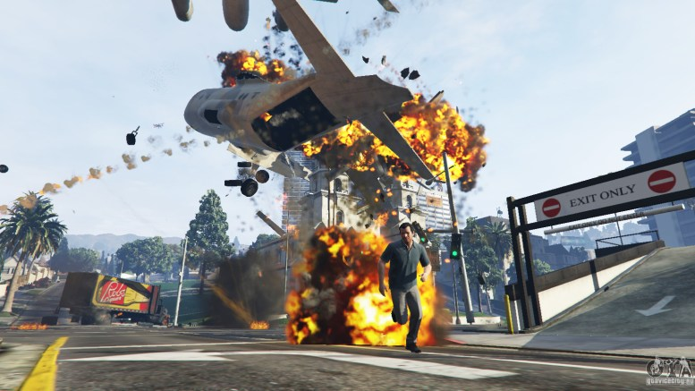 GTA 5 Angry Planes v1.2 Grand Theft Auto V