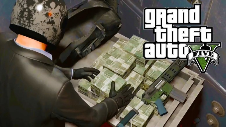 GTA 5 Bank robbery mod for Grand Theft Auto V
