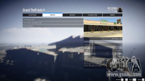 GTA 5 Heist Project 0.4.32.678 sixth screenshot
