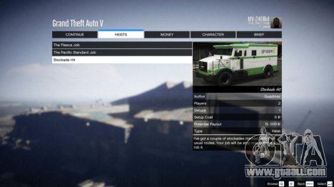 GTA 5 Heist Project 0.4.32.678 eighth screenshot