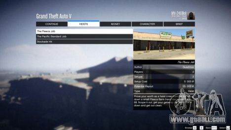 GTA 5 Heist Project 0.4.32.678 tenth screenshot