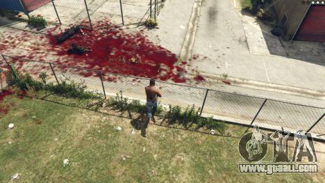 GTA 5 Extreme Blood 0.1 third screenshot