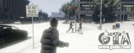 GTA 5 Snowballs in Singleplayer second screenshot