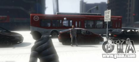 GTA 5 Snowballs in Singleplayer third screenshot