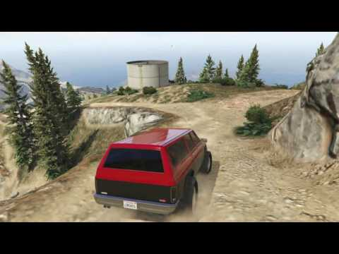 Off-roading Rancher