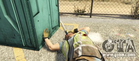GTA 5 Throwing Knives 1.1 third screenshot