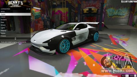 GTA 5 New Bennys Original Motor Works in SP 1.5.4 third screenshot