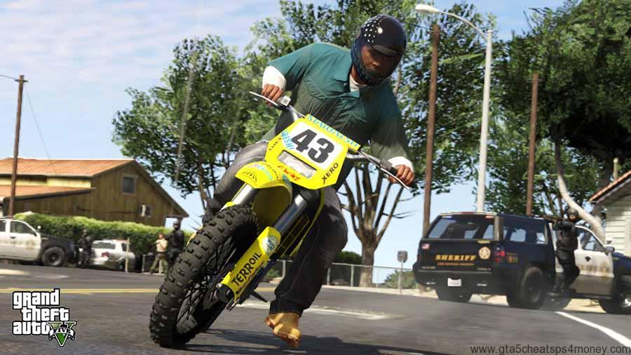 GTA 5 Cheats Bike