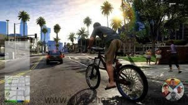 GTA 5 Cheats PS3 Bike