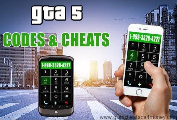 GTA 5 Cheats Xbox 360 Phone