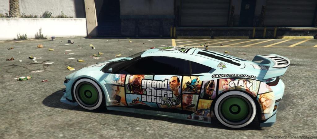 GTA 5 PS4 Cars