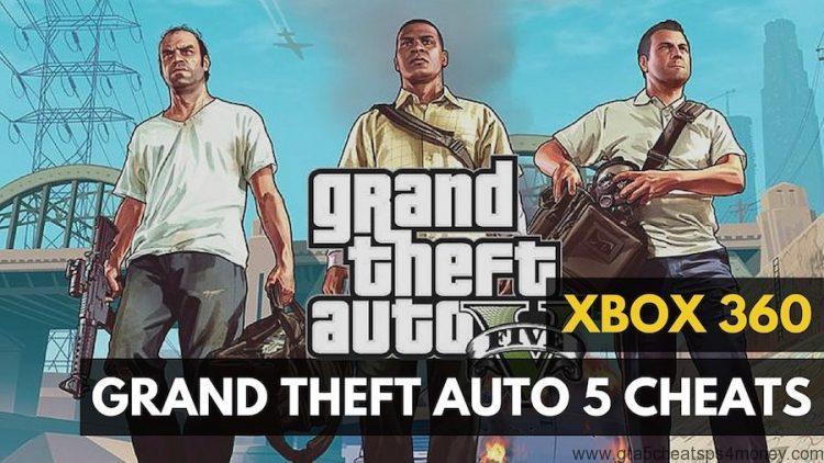 GTA 5 Xbox 360 Cheats