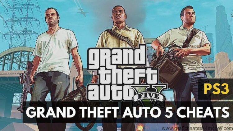Gta 5 Cheats PS3