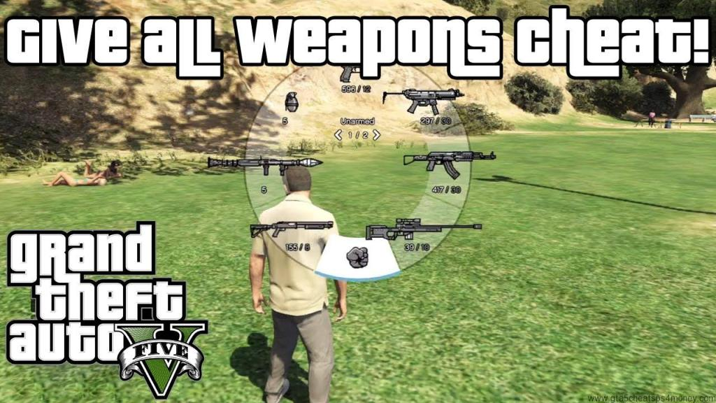 Kill Your Enemy With GTA 5 Cheats Xbox One Guns