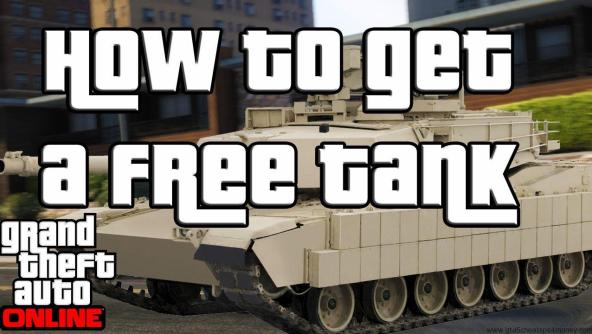 Destroy Your Enemy With GTA 5 Cheats PS3 Tank