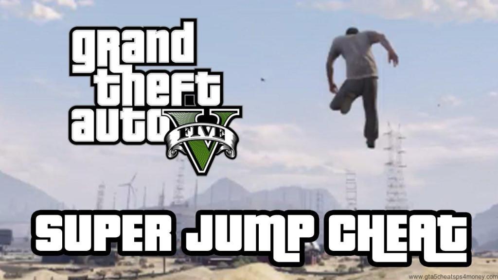 GTA 5 Cheats Xbox One Super Jump