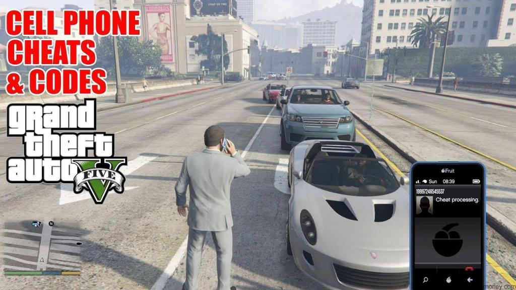 GTA 5 Cheats Cars