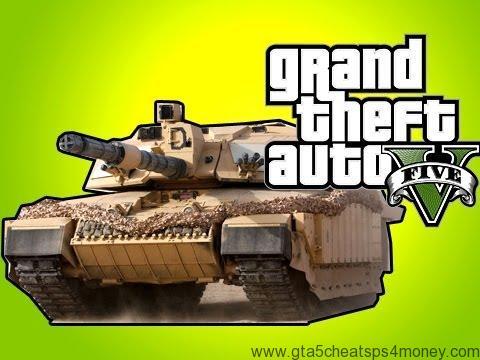 GTA 5 Cheat TankPS3