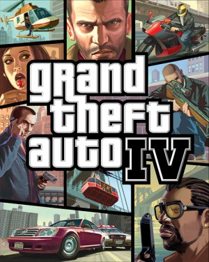 Pochette de Grand Theft Auto IV - GTA 4
