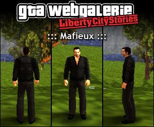 GTA LCS tenue : mafieux