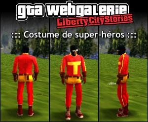 GTA LCS tenue : super héros